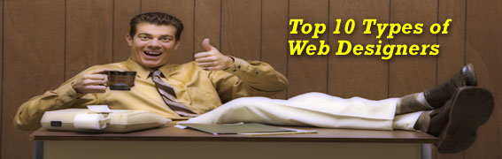 Top 10 Types of Web Designers